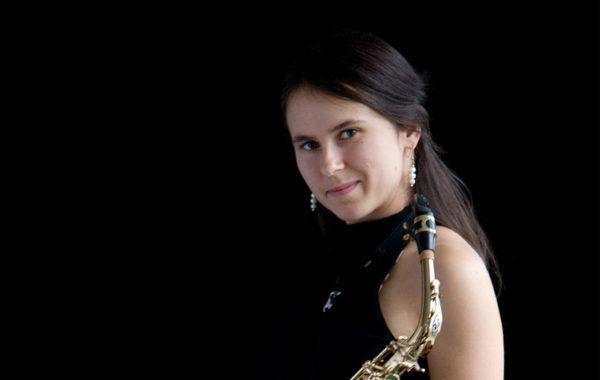Maja Barroso, Saxophonistin, Basel